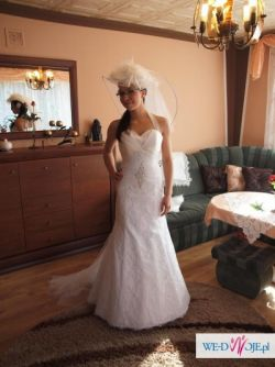 Suknia ślubna SARA, kolekcja Fasson 2011
