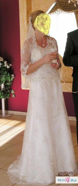 Suknia ślubna Scarlet ecri roz 36