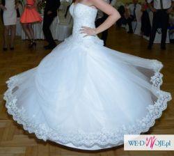 Suknia Ślubna Selma La Lucienne, r. 38-42 +bolerko