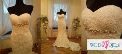 Suknia ślubna SILABA Manuel Mota PRONOVIAS Madonna 36