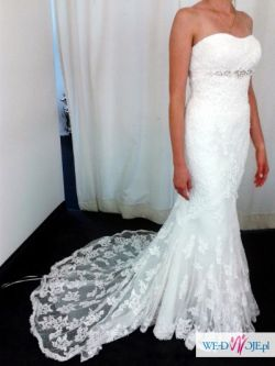 Suknia ślubna Silaba Pronovias salon Madonna koronkowa piękna!