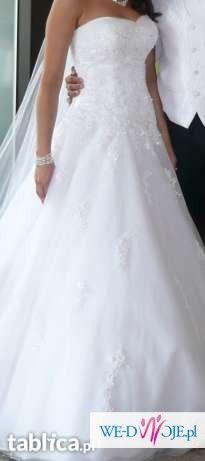 Suknia ślubna Sincerity 3637 biała