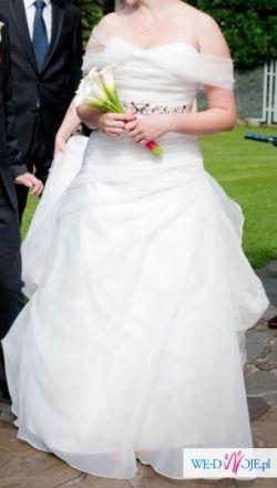 Suknia ślubna Sincerity 3711 ivory rozm. 40/42, US 14