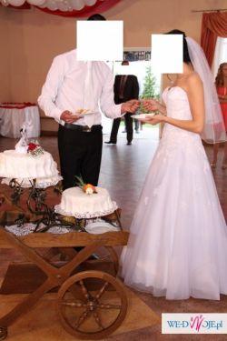 Suknia ślubna Sincerity 3771 Biała Rozmiar S (38) Mielec 900,00 zł