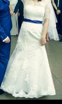 Suknia ślubna Sincerity Bridal 3664 rozm. 36/38