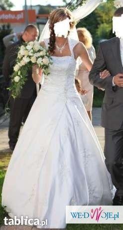 Suknia ślubna Sincerity BRIDAL model 3313 z kryształkami Swarovskiego