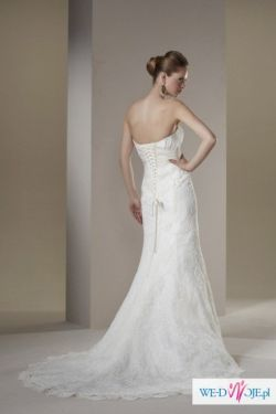 Suknia Ślubna Sincerity Bridal z Bolerkiem