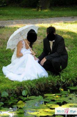 Suknia ślubna skromna i elegancka