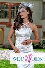 suknia ślubna, skromna, rybka, syrena roz 36 + gratis szal