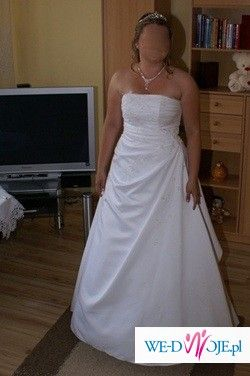 Suknia ślubna sla księżniczki