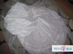 suknia slubna-sliczna skromna