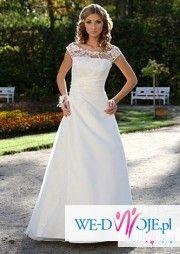 Suknia ślubna-SONIA-biała