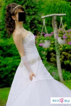 suknia ślubna SPOSA MANHATTAN + gratis dodatki