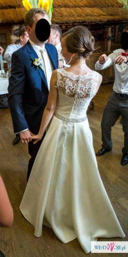 Suknia ślubna SPOSA - model ISABEL rozm. 36