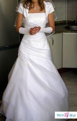 Suknia slubna Sposabella model 371, rozmiar 36/38