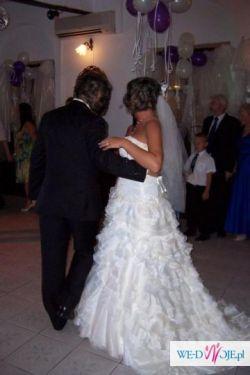 Suknia ślubna Sposabella model 635 hit 2011 rozm. 38-40 cena do uzg