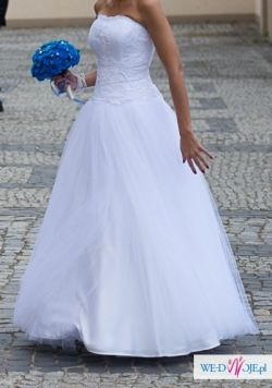 Suknia ślubna- sprzedam