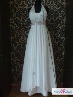 Suknia ślubna styl EMPIRE odcinana może być ciążowa
