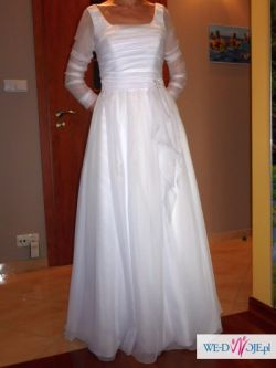 Suknia ślubna stylizowana na Rosa Clara Benasque