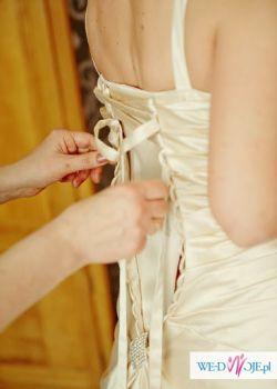 suknia ślubna super elegancka