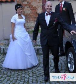 Suknia Ślubna Susan, Emmi Mariage, Biała, 38