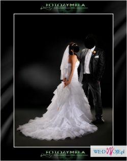 Suknia ślubna sweetheart 5940 + GRATIS  welon oraz buty rozmiar 37