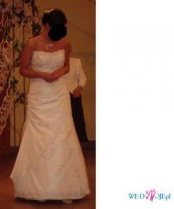 Suknia ślubna Sweetheart model 5841 ecru,