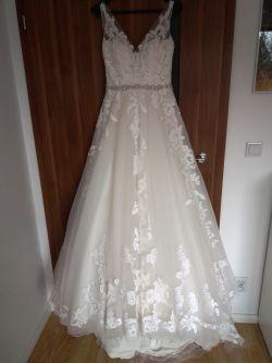 Suknia ślubna Sybil z trenem marki Maggie Sottero