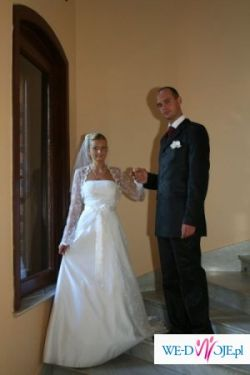 Suknia Ślubna Sydney firmy Marie Kate - biała