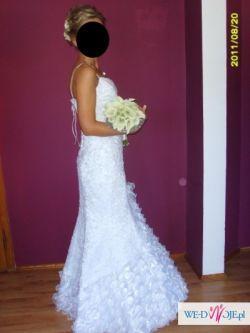 ae05fad787 suknia ślubna syrena w stylu hiszpańskim