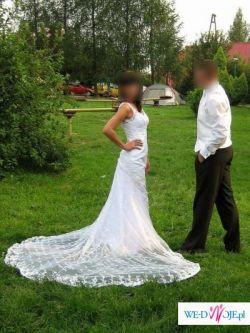 Suknia ślubna szyta na wzór kolekcji  La sposa-Sonar