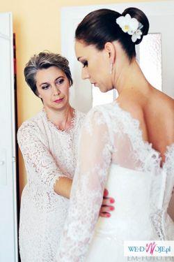 Suknia Ślubna Talia Osy Amy Love 178 cm