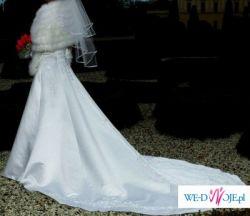 Suknia ślubna- TANIO