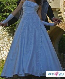 Suknia ślubna. Tanio