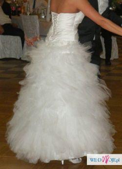 Suknia ślubna tiul Princessa 38-40-42