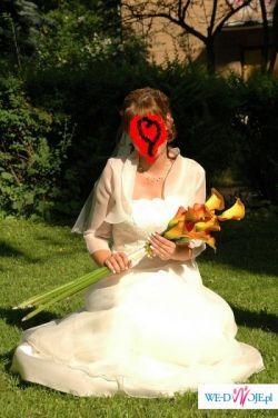 Suknia śłubna tulipan