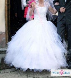 """Suknia ślubna typ """"księżniczka"""""""