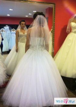 b0b4c12940b27 Suknia ślubna typ ,,Księżniczka