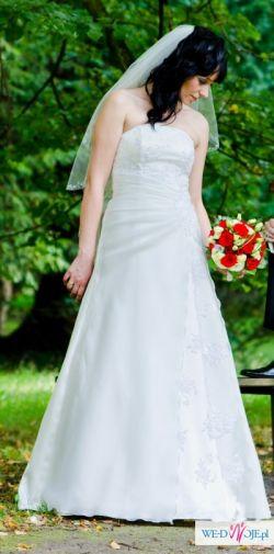 Suknia ślubna typu A z GRATISAMI!!!