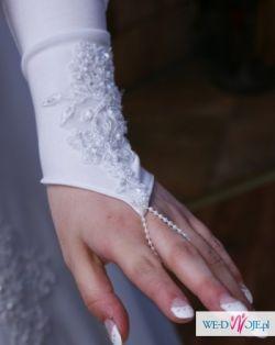 Suknia ślubna typu józefinka na wzór 517 z Biancaneve