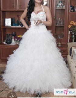 Suknia Ślubna typu princessa rozm 36-38