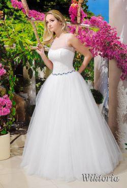 Suknia ślubna typu princesska