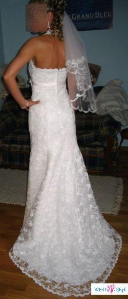 suknia ślubna typu rybka AGNES