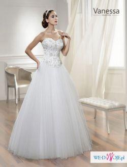 Suknia ślubna VANESSA 1403. Idealna.