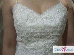Suknia ślubna Verise Florence (koronka, rybka)
