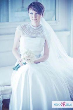 Suknia ślubna VICTORIA JANE ENZOANI BLUE CUDOWNA !