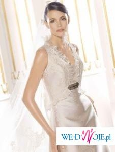 Suknia ślubna Villais model 2009:Falla 50% taniej niż w salonie