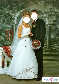 suknia ślubna w bardzo dobryn stanie