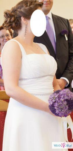 Suknia ślubna w greckim stylu