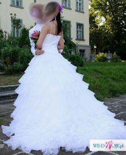 Suknia ślubna w hiszpańskim stylu
